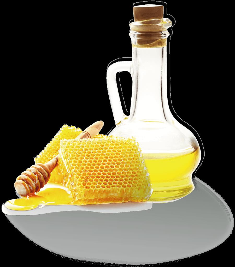 亜麻仁油とミツロウのイメージ